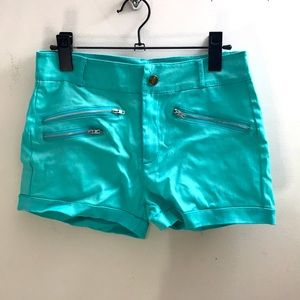 🆕Turquoise Shorts! BRAND NEW! Size small!